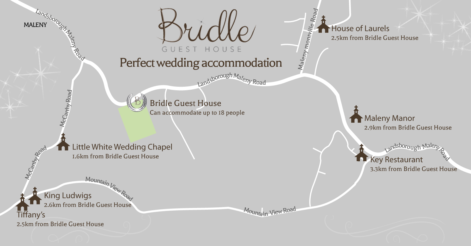 Wedding Venue accommodation Maleny